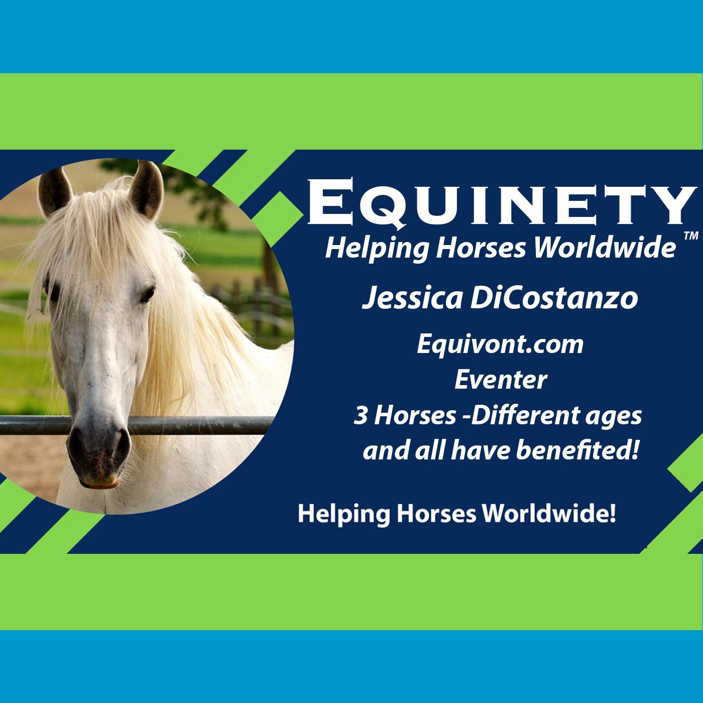 Equivont.com - Jessica DiCostanzo - Eventer - 3 Horses and amazing results