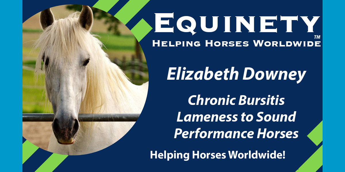Elizabeth Downey - Chronic Bursitis - Lame to Sound Performance Horse